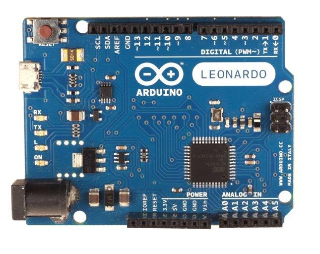 Arduino Leonardo Remote Control and Multimedia Keys Support in 1 0 5